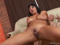 Anissa Kate and Tony Carrera fucking hardcore after BJ