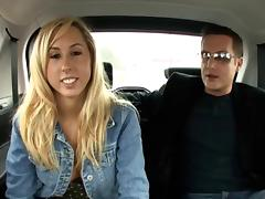 Amateur Girl in the backseat