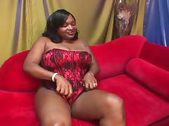 Bbw afro with a hariy pussy and big boobs