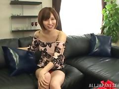 Erotic Asian slut suck, rides and jerks cocks in a steamy gangbang