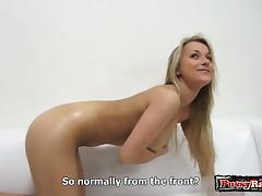 Hot girl blonde amateur