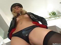 Aggressive sex is what pornstar Annette Schwarz prefers