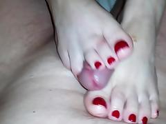 FOOT AND HANDJOB