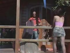 Outdoor fuck from a skilful latina TS