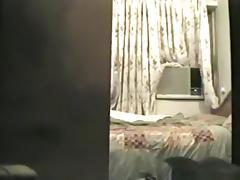 Arab couple has sex in a motelroom
