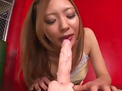 Casting for porn goes wild for sleazy Mio Kuraki