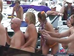 These slut stripteased