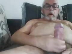 grandpa stroke and cum on cam 1