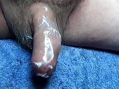 Cock with ping pong ball - four videos