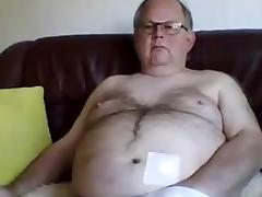 Grandpa play on cam 1