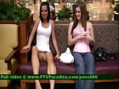 Ingenious Busty Womans Flashing Tits