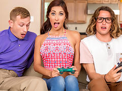 Jade Jantzen & Bill Bailey & Tyler Nixon in She Loves Playing With Joysticks - Brazzers