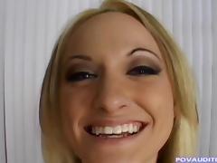 Breanna Fox owns a seductive butt and is ready to suck the pecker