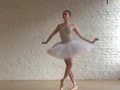 Grumpy ballerina