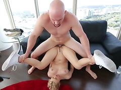 Natalia Starr meets large dick in hardcore scenes
