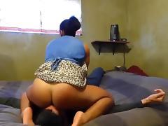 Black Girl Dirty Facesitting Session #2