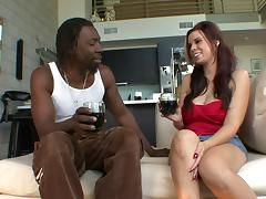 Perfect white chick Rachel Solari and the black dong of her dreams