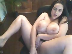 Girl Caught on Webcam - Part 52 (Big Tits)