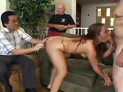 Married Woman Gets Fucked By Two Cocks