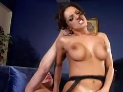 Horny pornstar Francesca Le in incredible brunette adult movie