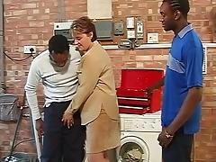 British Housewife pays two BBC repairers in kind