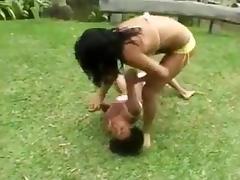 CATFIGHT Victoria vs Priscilla.wmv
