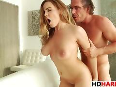Busty babe Natasha Nice gets fucked