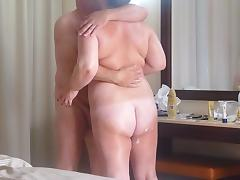 Mature couple fuck on holiday