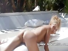 Amazing dream of unbelievable wow blonde