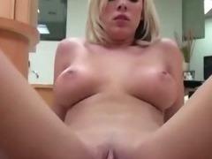Naughty girlfriend fucked on floor