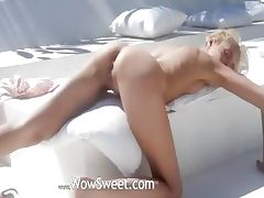 pleasing dream of beautiful wow blonde