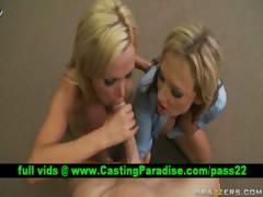 Nikki Nikki two blonde sluts fucking