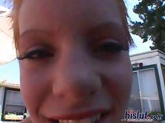 Emily gets a facial