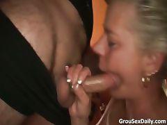 Amazing gang bang party with horny sluts part5