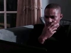 Horny Brown Babe Ebony Sucking BBC