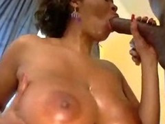 Big Black Wet Titty Ebony Pounded