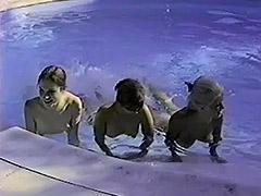 Stunning Nudist Girls Relaxing Without Men 1960