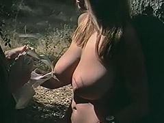 Sexy Blonde Girl Fucks a Boy 1960