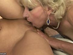 Grannies and Teens making love