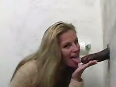 Linda Friday sucking Black cock