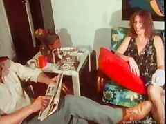 vintage fuck in front of husbad