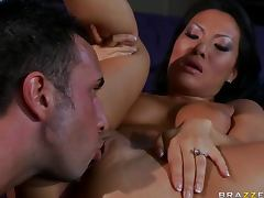 Horny Asian Beauty Asa Akira is a An Anal Cheating Wife