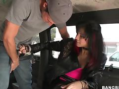 Goth Chick Loves to be fucked by strangers
