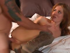Horny Teen Sheena Shaw Takes A Soldier Cock Up Her Shaved Pussy