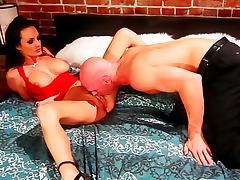 Big tits Alektra Blue balled by a big cock