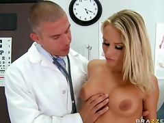 Beautiful blonde has a good fuck