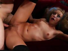 Alyssa Branch in naughty cock riding video