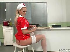 A Solo Scene With the Kinky Nurse