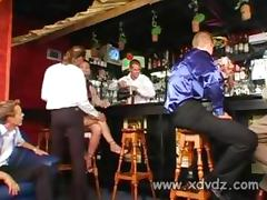 Bar videos. Bar can be transformed into a perfect stage for lecherous fucking scenes