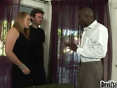 Busty blond meets her stepdaddy and fucks him hard